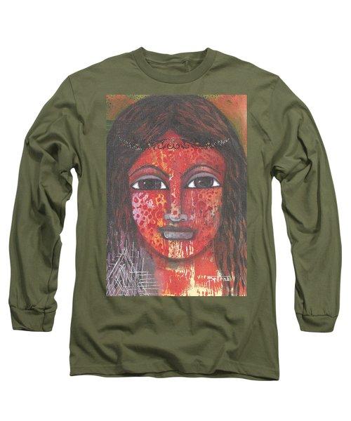 Tribal Woman Long Sleeve T-Shirt