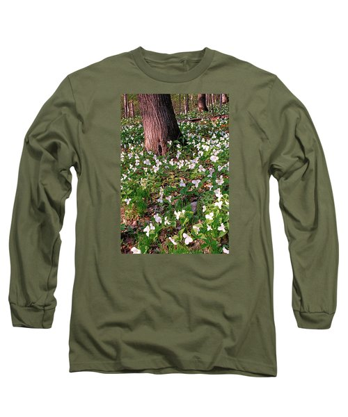 Trillium Woods No. 1 Long Sleeve T-Shirt