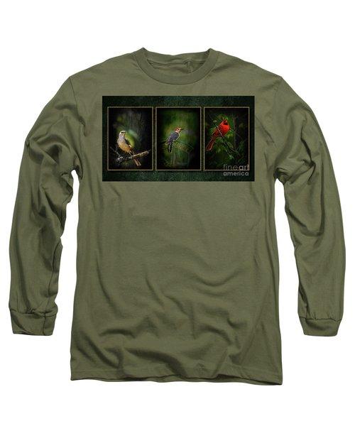 Triptych Long Sleeve T-Shirt