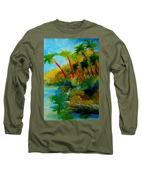Tropical Canal Long Sleeve T-Shirt