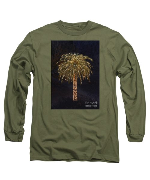 Tropical Christmas Long Sleeve T-Shirt by Kevin McCarthy