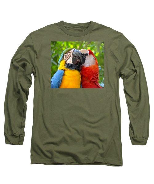 Tropical Kisses Long Sleeve T-Shirt