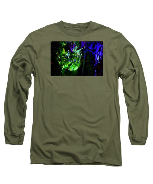 Long Sleeve T-Shirt featuring the photograph Into The Psychedelic Jungle by Richard Ortolano