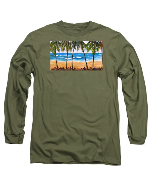 Tropical Palms 2 Long Sleeve T-Shirt