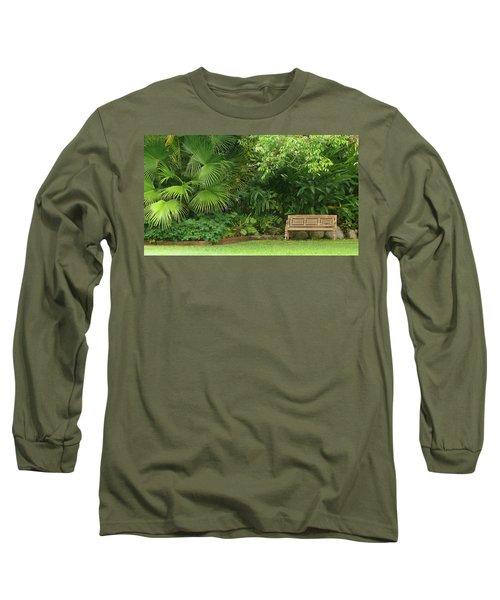 Tropical Seat Long Sleeve T-Shirt