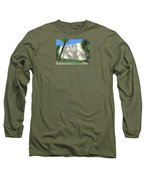 Tropical Shadows Long Sleeve T-Shirt