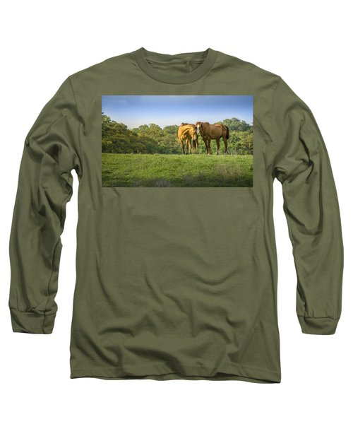 True Love Long Sleeve T-Shirt by Debbie Karnes