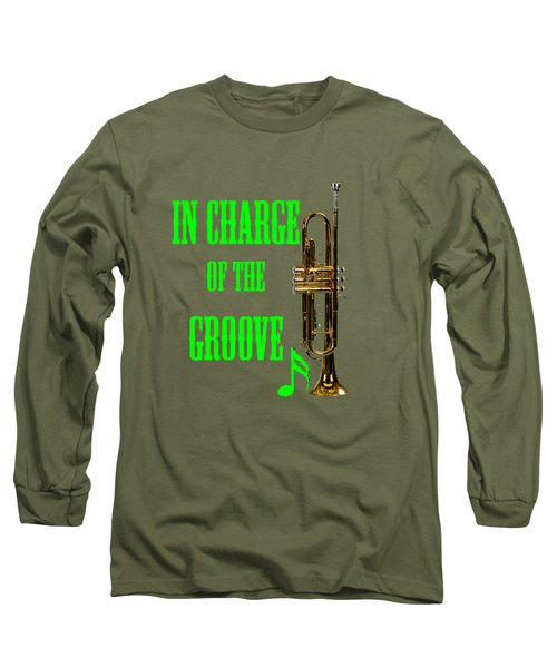 Trumpets In Charge Of The Groove 5535.02 Long Sleeve T-Shirt by M K  Miller