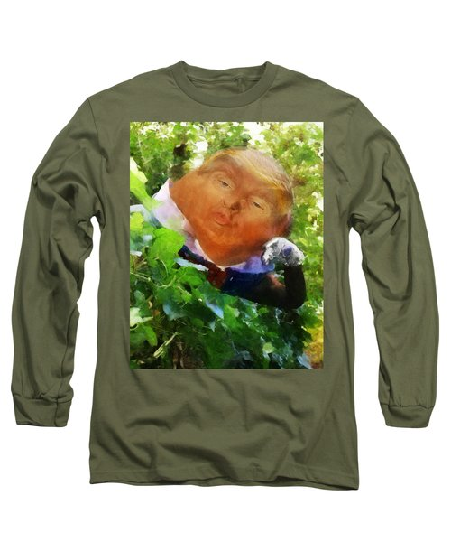 Trumpty Dumpty San On A Wall Long Sleeve T-Shirt