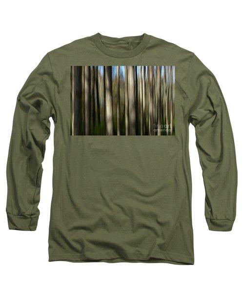 Trunks Abstract Long Sleeve T-Shirt
