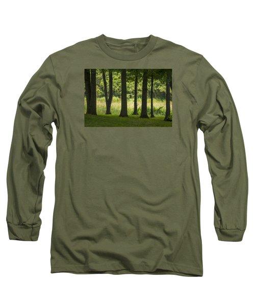Trunks In A Row Long Sleeve T-Shirt