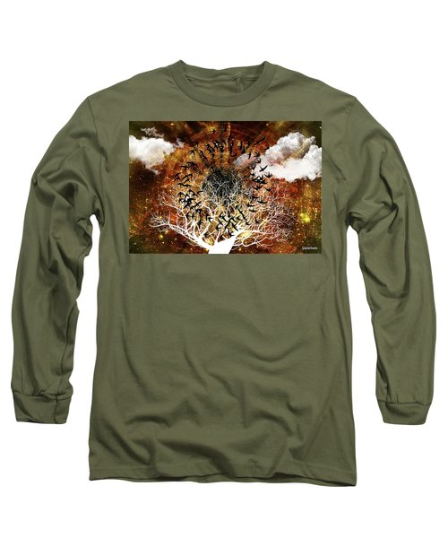 Try Everything Long Sleeve T-Shirt by Paulo Zerbato