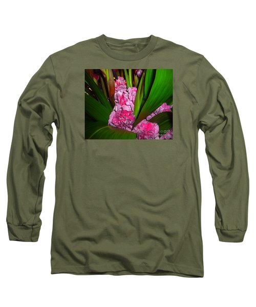 Long Sleeve T-Shirt featuring the photograph Tucked Away by Merton Allen