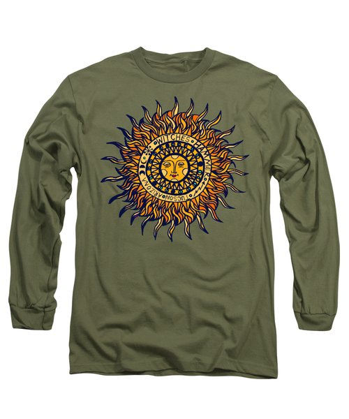 Tucson  Arizona Del Sol Long Sleeve T-Shirt by Vagabond Folk Art - Virginia Vivier