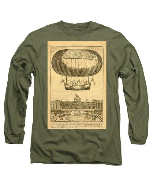 Tuileries Garden, Paris Long Sleeve T-Shirt