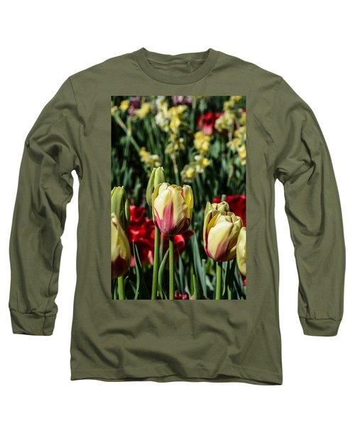 Tulip Garden Long Sleeve T-Shirt