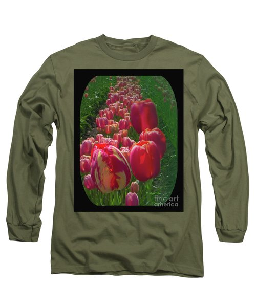 Tulip Row Long Sleeve T-Shirt by Ansel Price