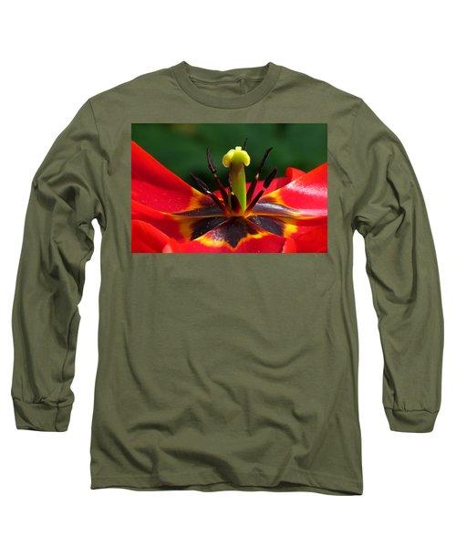 Tulip Stamen Long Sleeve T-Shirt