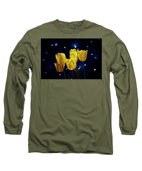 Long Sleeve T-Shirt featuring the photograph Tulip Twinkle by Tom Mc Nemar