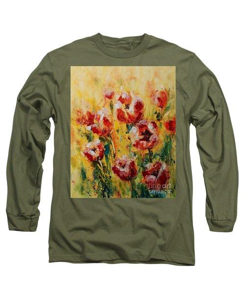 Tulip Waltz Long Sleeve T-Shirt
