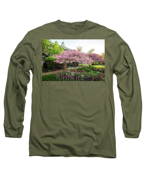Tulips And Crabapples Long Sleeve T-Shirt