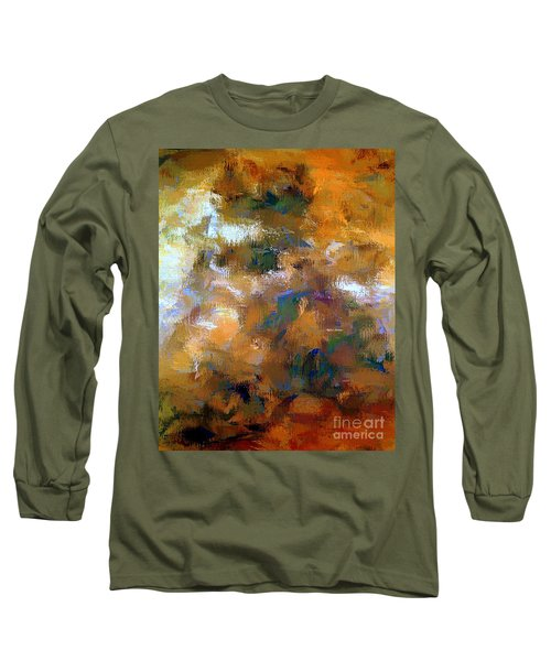 Long Sleeve T-Shirt featuring the digital art Tumultuous Expectations by Rafael Salazar