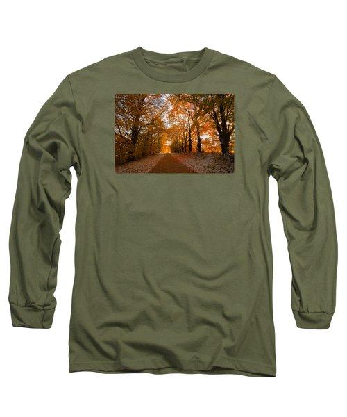 Tunnel Through Morning Backlight Long Sleeve T-Shirt