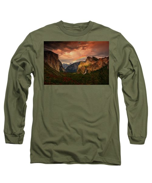 Tunnel View Rainbow Long Sleeve T-Shirt