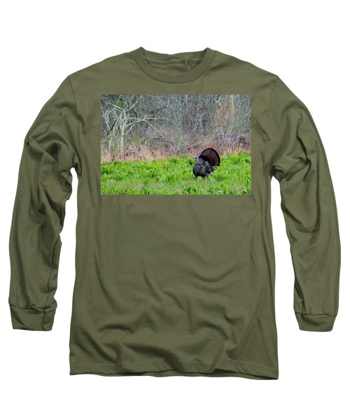 Long Sleeve T-Shirt featuring the photograph Turkey And Cabbage by Bill Wakeley