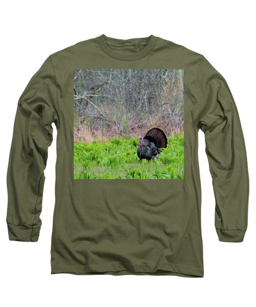 Long Sleeve T-Shirt featuring the photograph Turkey And Cabbage Square by Bill Wakeley
