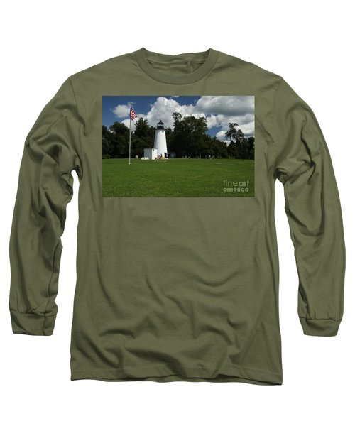 Turkey Point Lighthouse Long Sleeve T-Shirt