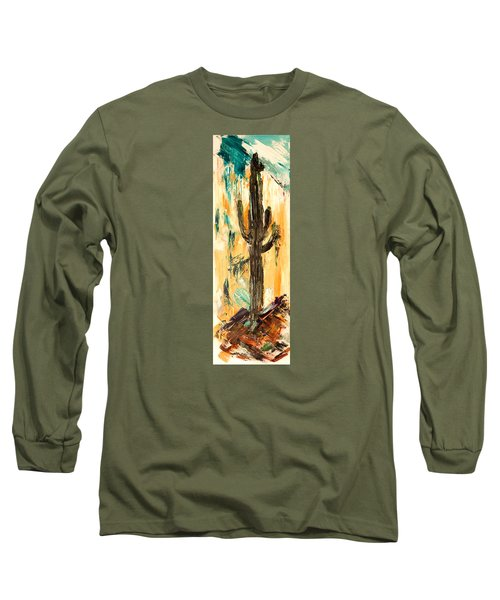 Turquoise And Topaz Long Sleeve T-Shirt