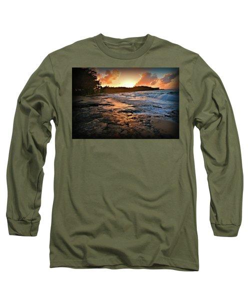 Turtle Bay Sunset 1 Long Sleeve T-Shirt