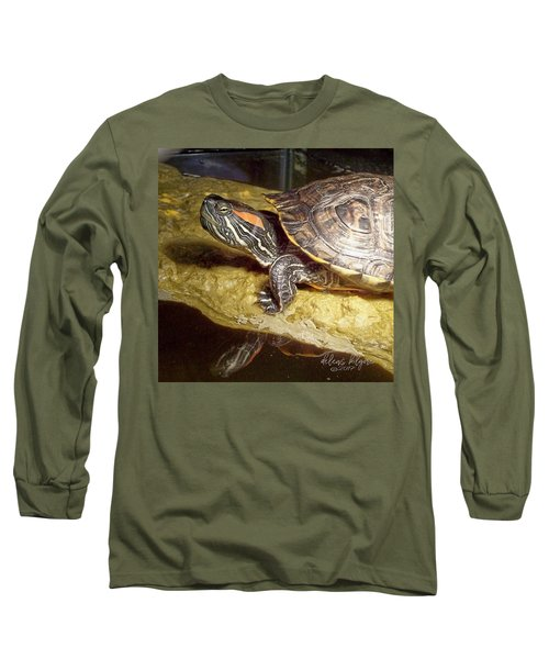Turtle Reflections Long Sleeve T-Shirt