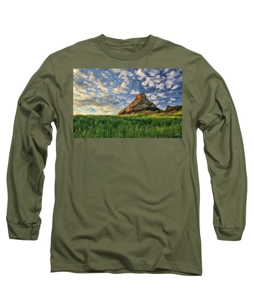 Turtle Rock At Sunset 2 Long Sleeve T-Shirt by Endre Balogh
