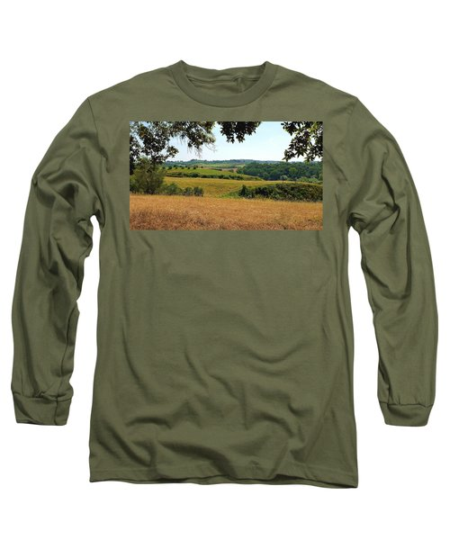 Long Sleeve T-Shirt featuring the photograph Tuscan Country by Valentino Visentini