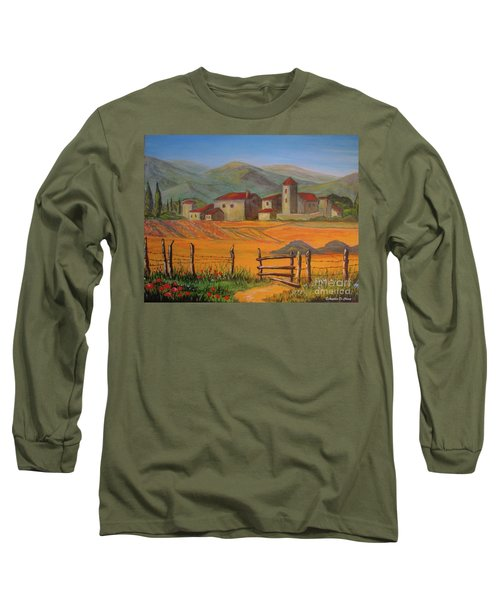 Tuscan Farm Long Sleeve T-Shirt