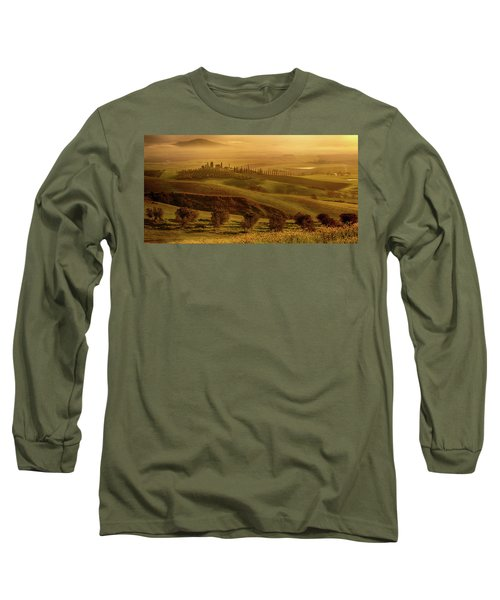 Tuscan Villa Long Sleeve T-Shirt