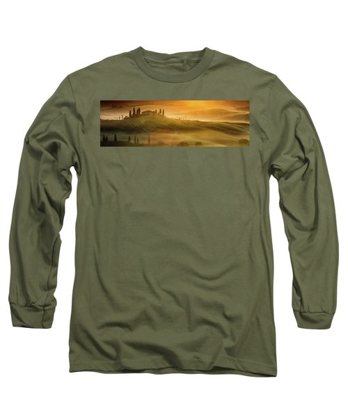 Tuscany In Golden Long Sleeve T-Shirt