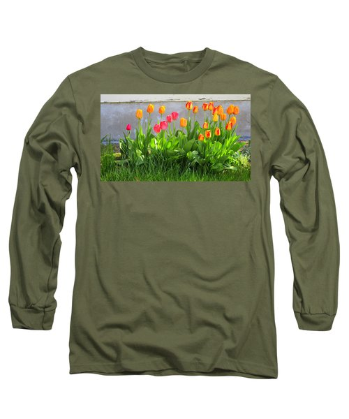 Twenty-five Tulips Long Sleeve T-Shirt