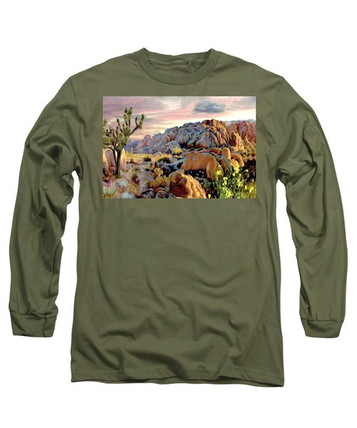 Twilight At Joshua Long Sleeve T-Shirt