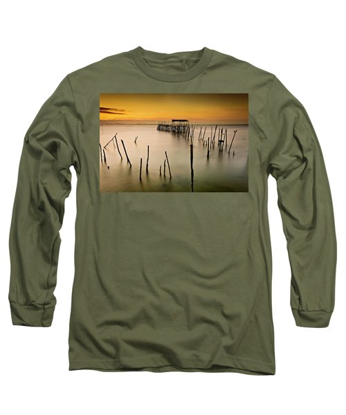 Long Sleeve T-Shirt featuring the photograph Twilight by Jorge Maia