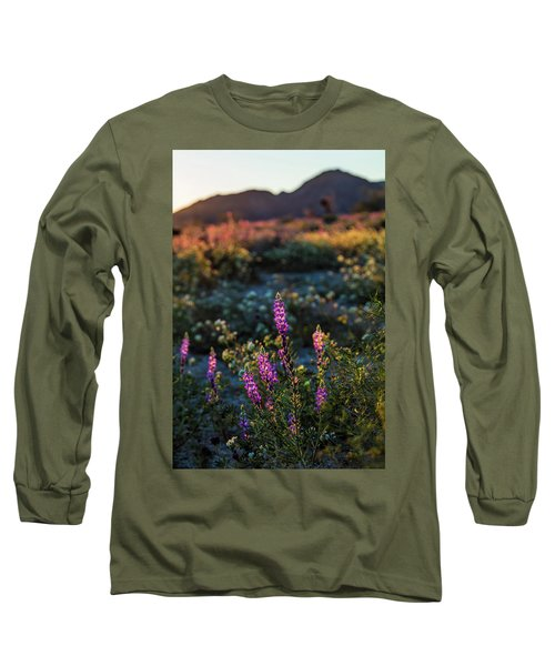 Twilight Lupine Long Sleeve T-Shirt