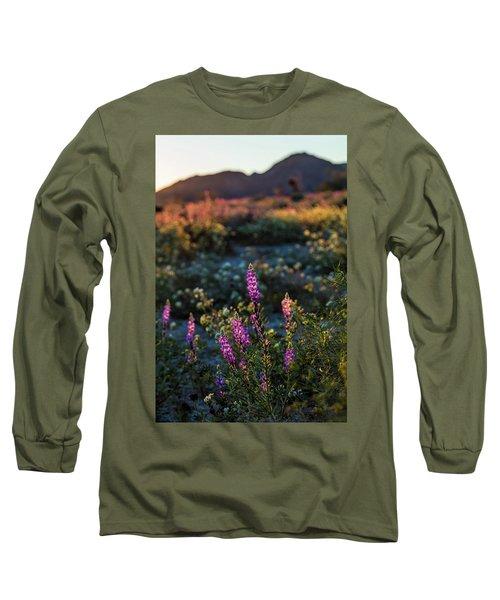 Twilight Lupine Long Sleeve T-Shirt