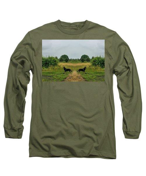 Twin Guards Long Sleeve T-Shirt