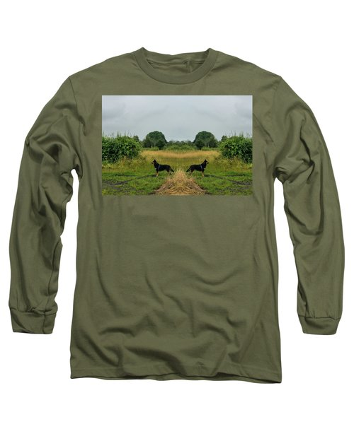 Twin Guards Long Sleeve T-Shirt