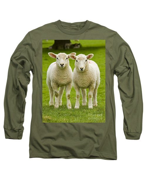 Twin Lambs Long Sleeve T-Shirt