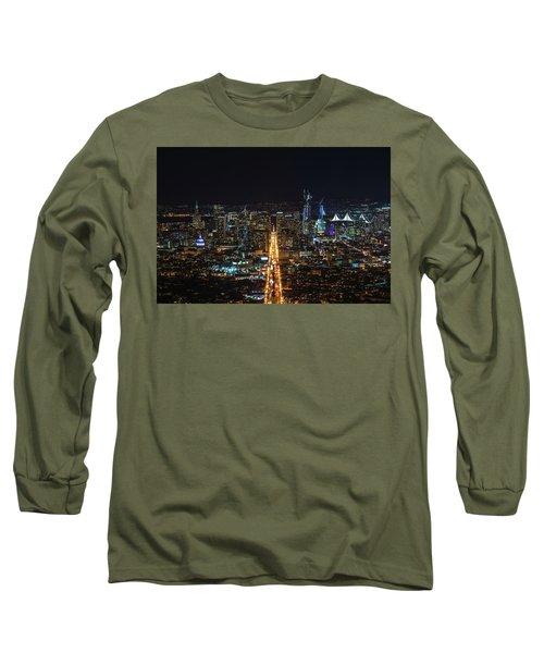 Twin Peaks Long Sleeve T-Shirt by Alpha Wanderlust