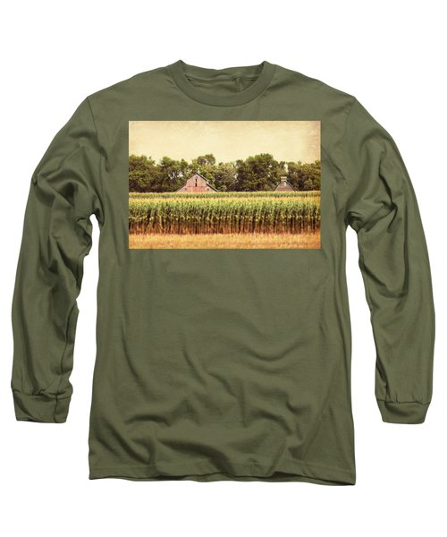 Long Sleeve T-Shirt featuring the photograph Twin Peaks by Julie Hamilton