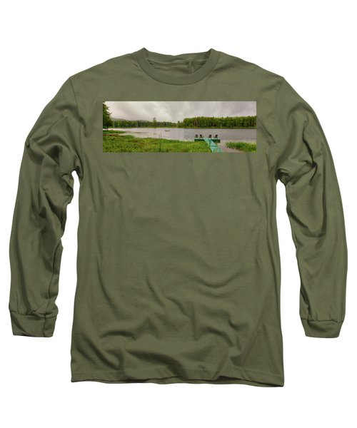 Long Sleeve T-Shirt featuring the photograph Twin Ponds Landscape by David Patterson